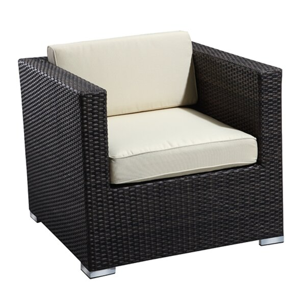 Brighton Arm Chair with Cushion by Rattan Outdoor Furniture