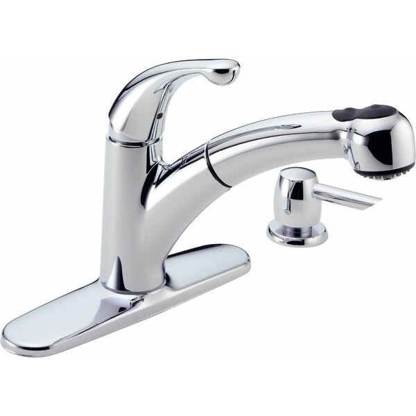 Palo Single Handle Kitchen Faucet with Diamond Seal Technology by Delta