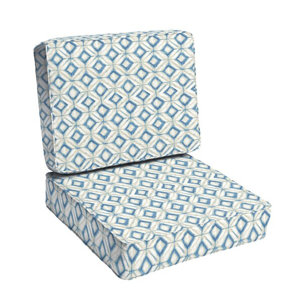 Indoor/Outdoor Dining Chair Cushion by Wrought Studio