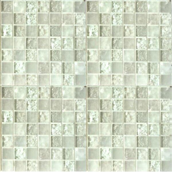 Lakeview 1 x 1 Glass Mosaic Tile in Nevis by Kellani