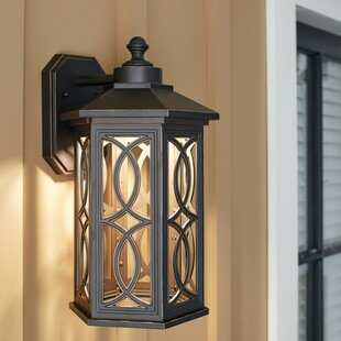 Best Choices Dewart LED Outdoor Wall Lantern By Bloomsbury Market