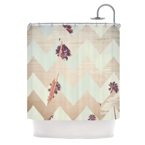Oasis Shower Curtain by KESS InHouse