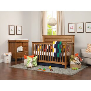 Online Reviews 4-in-1 Convertible 3 Piece Crib Set By Harriet Bee