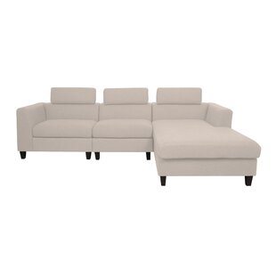 Lundberg Modern Deep Seated Chaise Modular Sectional