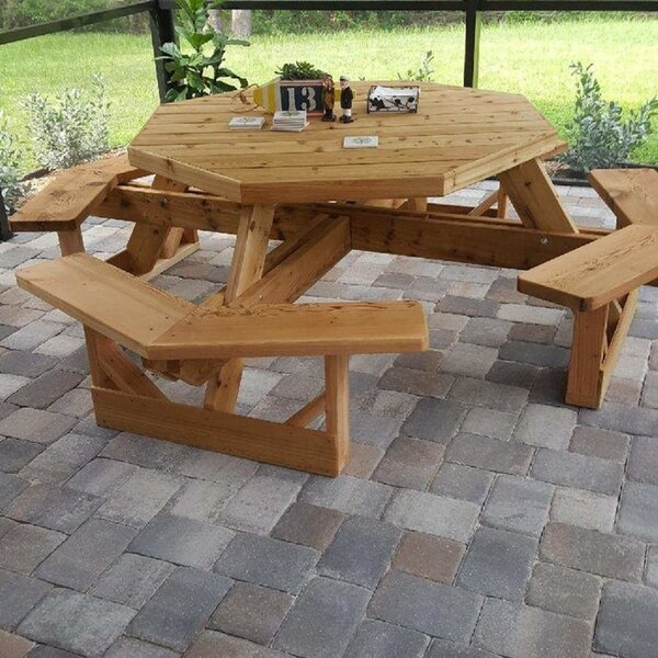 Orrin Picnic Table by Millwood Pines