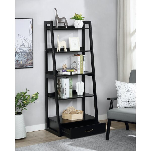 Frey 5 Shelf Ladder Bookcase By Three Posts