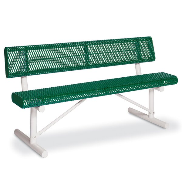 Victory Steel Park Bench by Anova