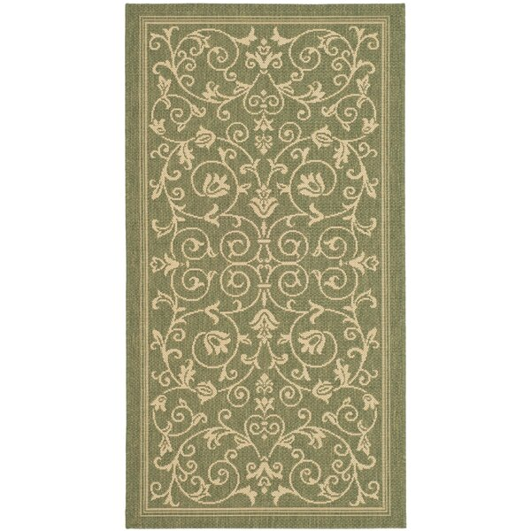 Bexton Green Outdoor Area Rug by Alcott Hill