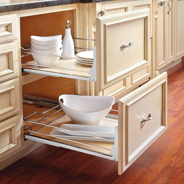 Maple Pullout Basket by Rev-A-Shelf