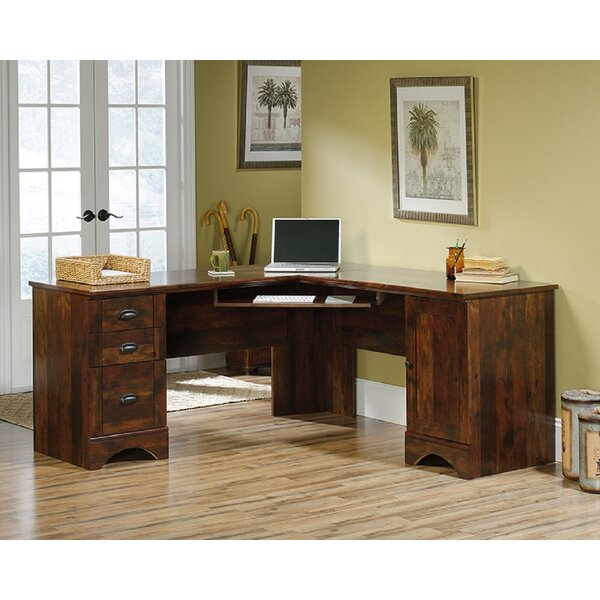 Voorhies Reversible L-Shape Executive Desk