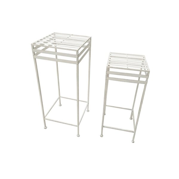 Second Avenue 2 Piece Nesting Plant Stand Set by Red Barrel Studio