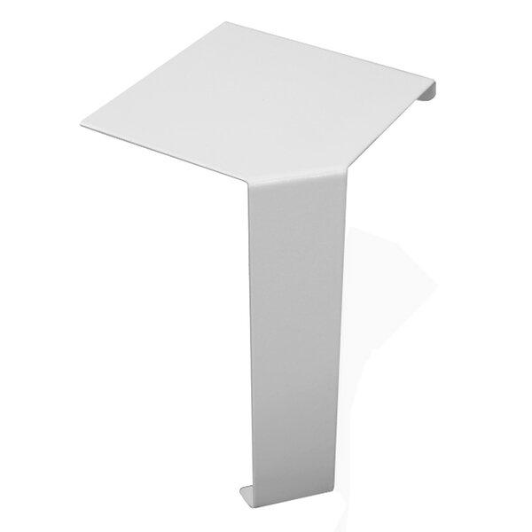 Basic Series Steel Easy Slip-On Baseboard Heater 90-Degree Corner Cover By Baseboarders