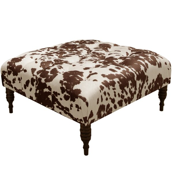 Kenneth Tufted Cocktail Ottoman by Trent Austin Design