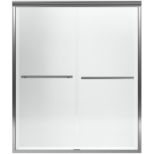 Gradient 59.63'' x 70.06'' Double Sliding Shower Door with CleanCoat® Technology by Kohler