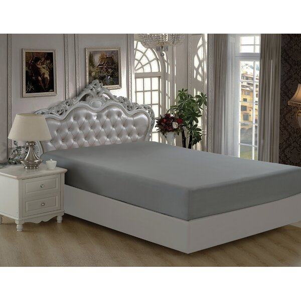 Byrnes Comfort and Soft Fitted Sheet by Charlton Home