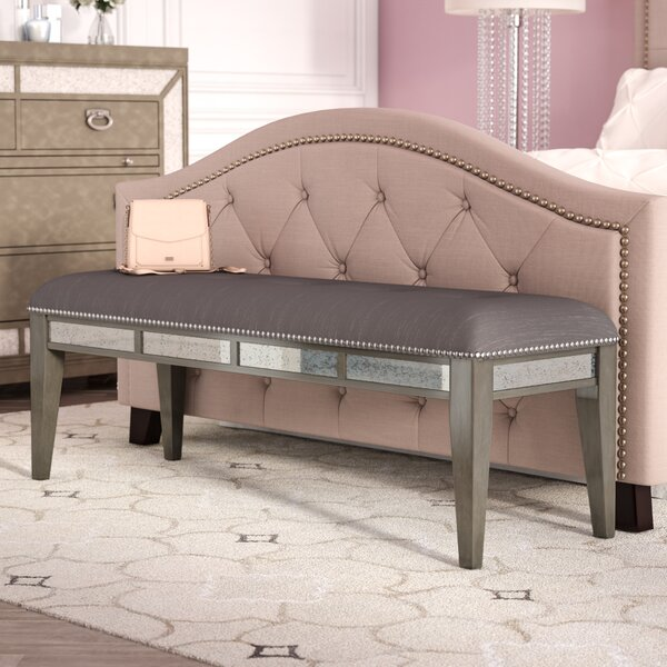 Roxie Upholstered Bench by Willa Arlo Interiors