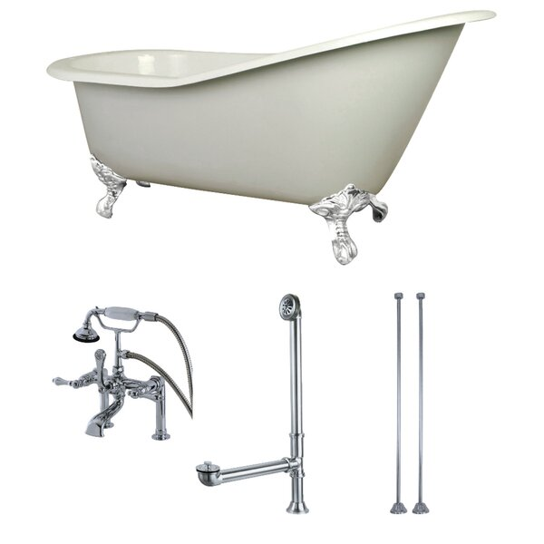 62 x 31 Clawfoot Soaking Bathtub by Kingston Brass