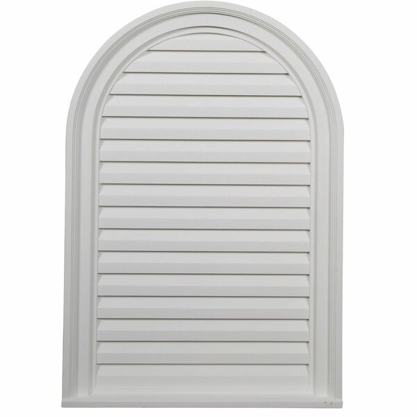 Cathedral 30H x 22W Gable Vent Louver by Ekena Millwork