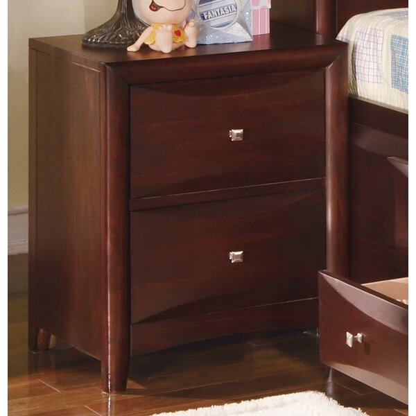 Remy 2 Drawer Nightstand by Red Barrel Studio