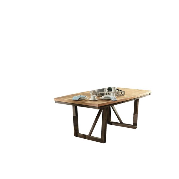 Delwood Extendable Dining Table By Loon Peak
