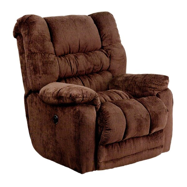 Hargraves Contemporary Microfiber Power Rocker Recliner by Red Barrel Studio