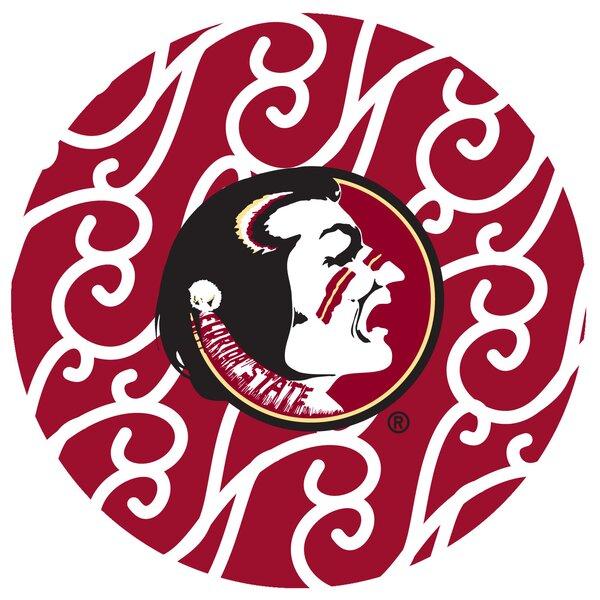 Florida State University Swirls Collegiate Coaster (Set of 4) by Thirstystone
