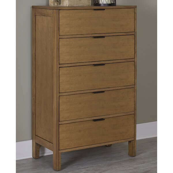Hosier 5 Drawer Chest by Mercury Row