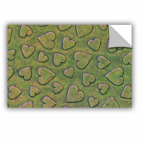 Kott Single Heart Removable Wall Decal by Zoomie Kids