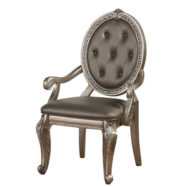 Leanos Upholstered Dining Chair (Set of 2) by Rosdorf Park Rosdorf Park