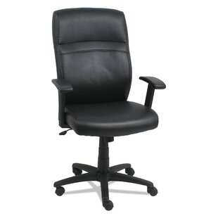 Review Rhynwood High-Back Swivel/Tilt Executive Chair by Charlton Home