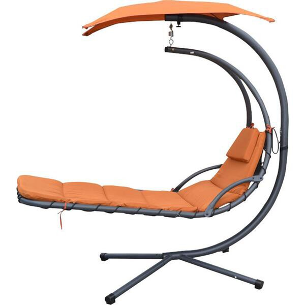 MCombo Hanging Chaise Lounger with Stand by Newacme LLC