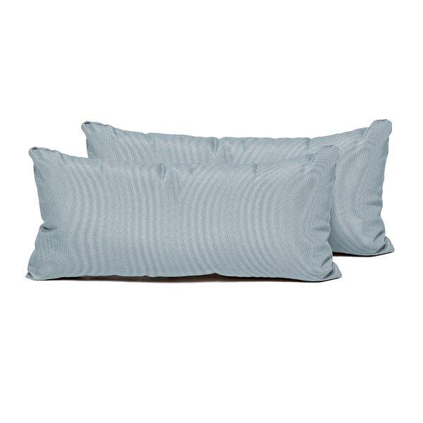 SPA Indoor/Outdoor Lumbar Pillow (Set of 2) by TK Classics