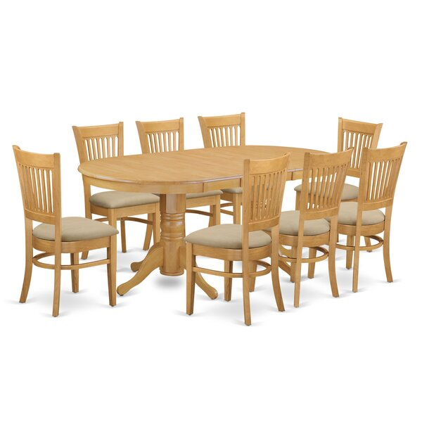 Rockdale 9 Piece Solid Wood Dining Set by Darby Home Co