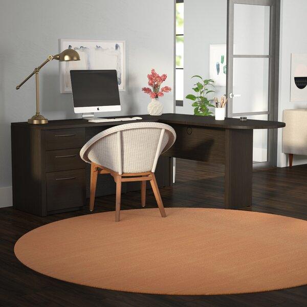 Karyn L-Shape Executive Desk by Latitude Run