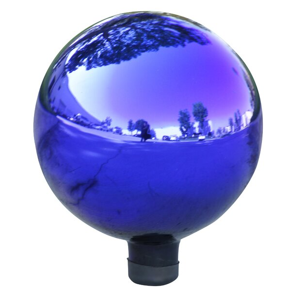 Electric Glass Gazing Globe by Alpine