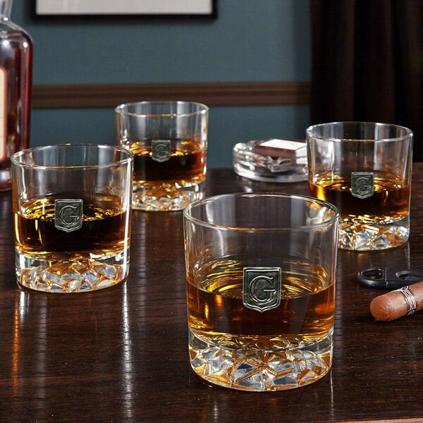 Sylva Regal Crested Fairbanks Whiskey Glasses by Mint Pantry