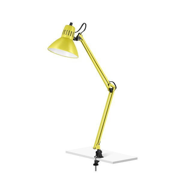 Bondi Architect Clamp 34 Desk Floor Lamp by Ebern