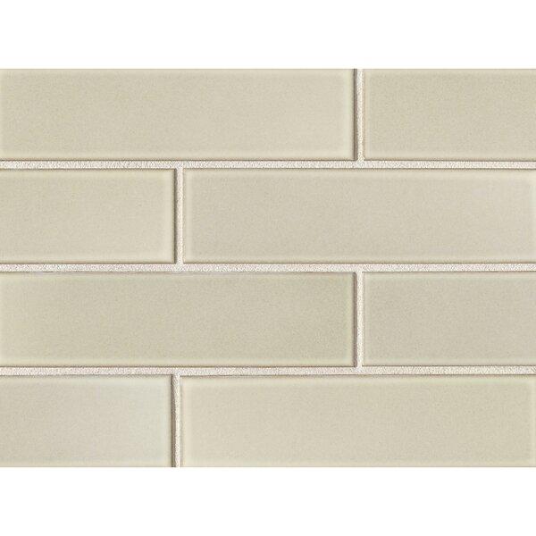 Reverie 2.5 x 9 Porcelain Subway Tile in Beige by Grayson Martin