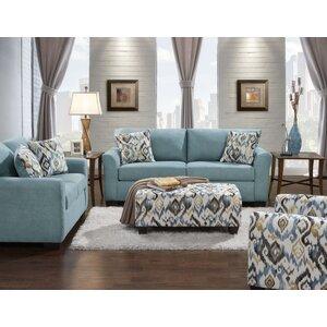 Mazemic 2 Piece Living Room Set