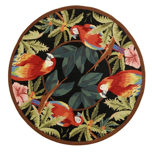 Hogle Tropical Parrot Novelty Area Rug by Bay Isle Home