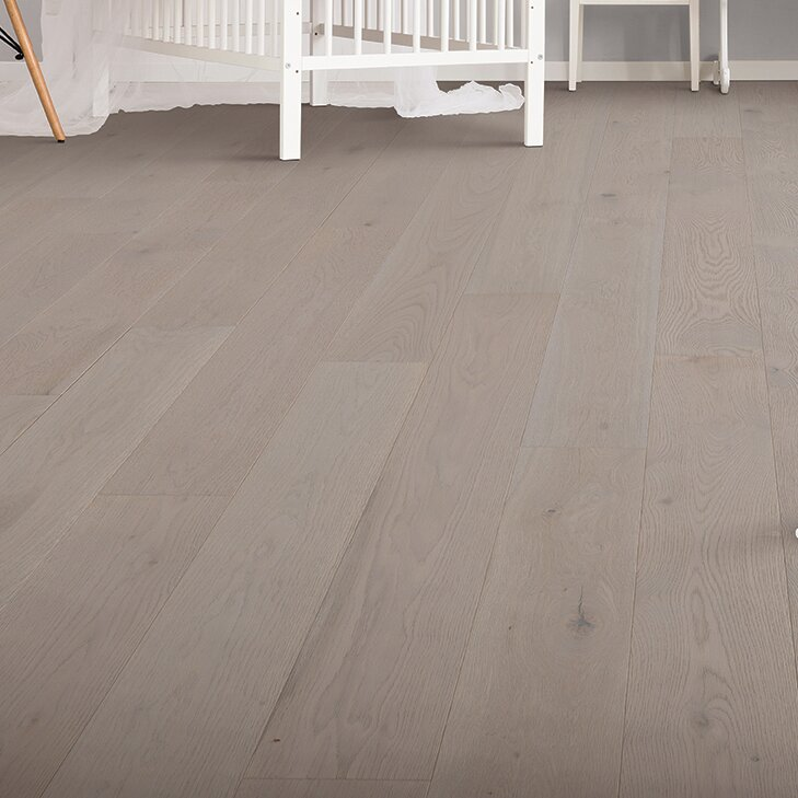 Weathered Appeal 7 Engineered Oak Hardwood Flooring In Coventry Gray