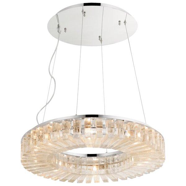 Kallick 8 - Light Unique / Statement Drum Chandelier By Cyan Design