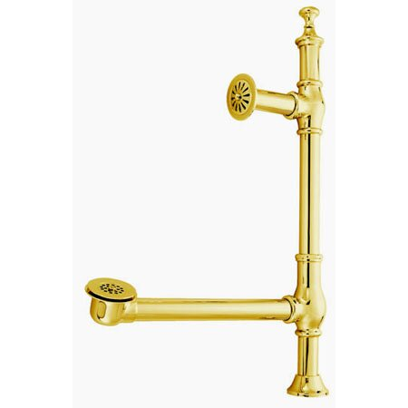Vintage Clawfoot 1.5 Leg Tub Drain by Kingston Brass
