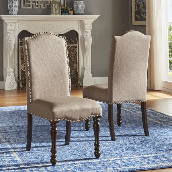 #1 Hilliard Side Upholstered Dining Chair (Set Of 2) By Darby Home Co Discount