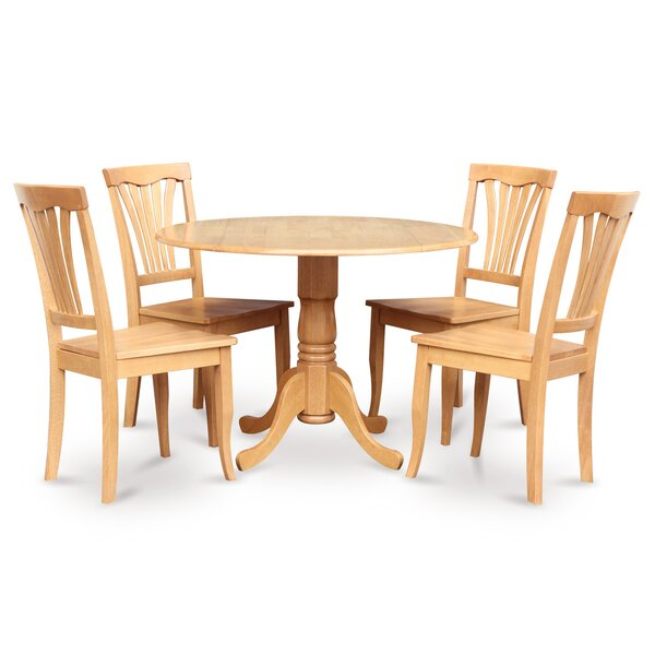 Dublin 5 Piece Dining Set By Wooden Importers Cheap