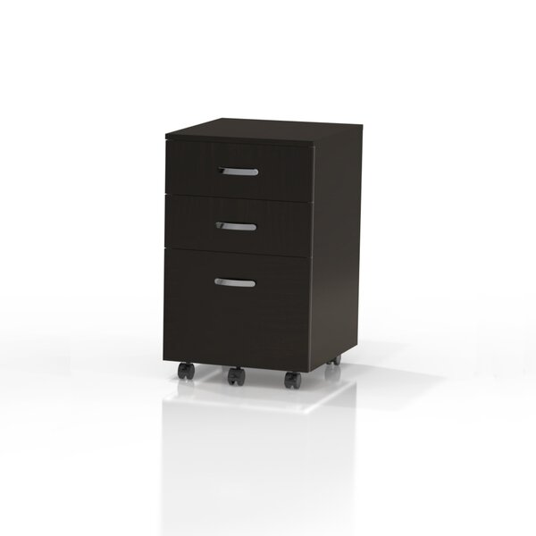 Soho 3-Drawer Mobile Vertical Filing Cabinet by Mayline Group