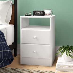Doyle 2 Drawer Nightstand by Trule Teen