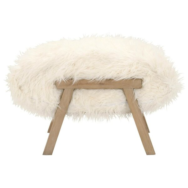Gerard Wooden Ottoman by Bungalow Rose