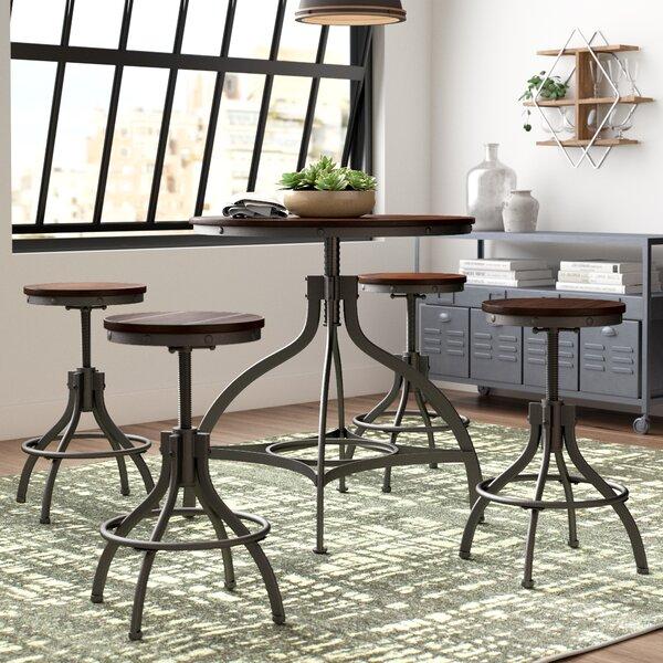 Trent Austin Design Yvette 5 Piece Counter Height Dining