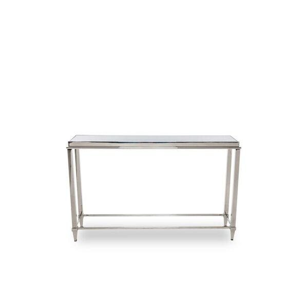 Brayden Studio Glass Console Tables